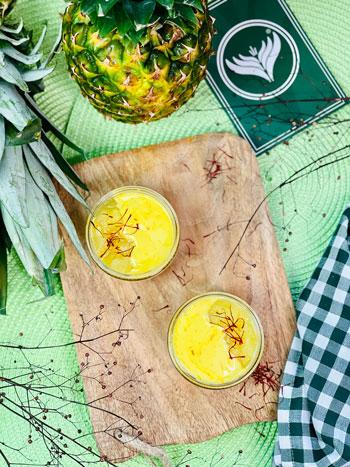 Ananas-Kompott-mit-Safran-Rezept-3