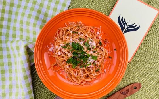 Beitragsbild Spaghetti Tomaten Sahne Soße Beitragsbild