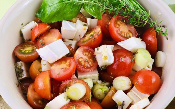 Beitragsbild Tomatensalat