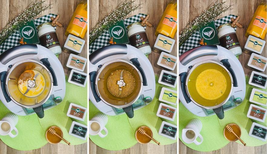 Bilder-Reihe-Goldene-Milch-im Thermomix