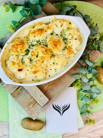 Blumenkohl-Kartoffel-Auflauf-Rezept