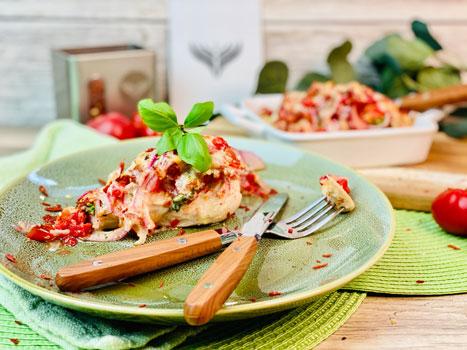 Bruschetta-Hähnchen-Rezept