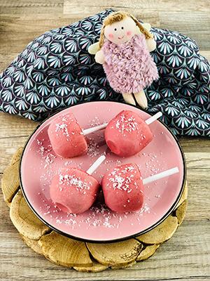 Erdbeer-Himbeer-Joghurt-Pops 2 mini