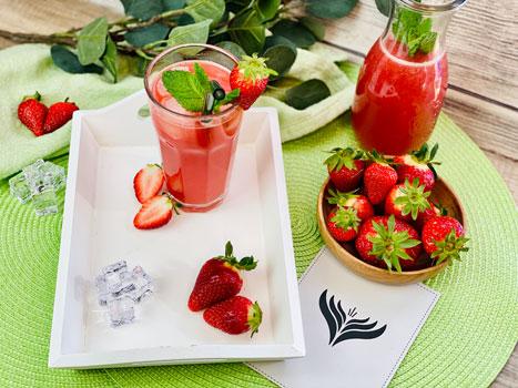 Erdbeer-Limo