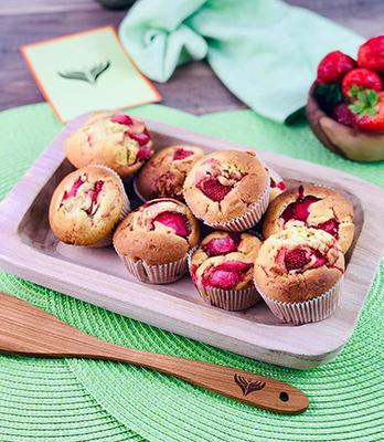 Erdbeermuffins 1