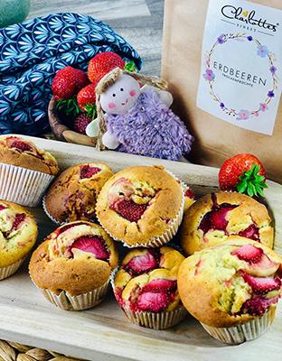 Erdbeermuffins Tüte Finest
