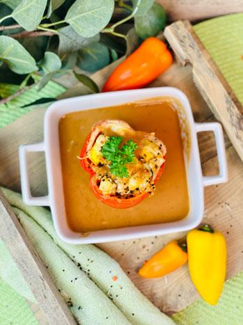 Gefüllte-Paprika-mit-Zucchini-Feta-und-Quinoa-Rezept-2