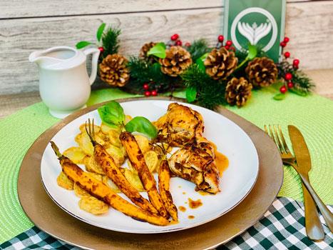 Gefülltes-Hähnchen-mit-Kartoffeln-und-Karotten-Rezept-1
