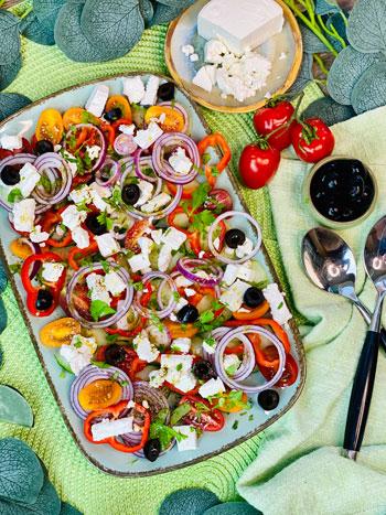 Griechischer-Bauernsalat
