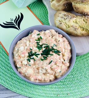 Hüttenkäse-Curry Dip mini