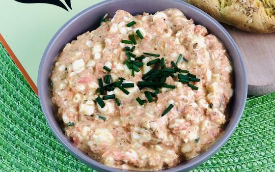 Hüttenkäse-Curry Dip3 Beitragsbild
