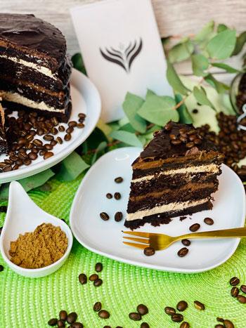 Hala-Kaffee-Torte