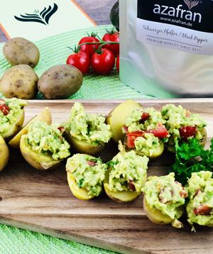 Kartoffeln mit Avocado Rezept 2