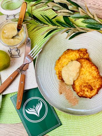 Kartoffelpuffer-mit-Birnenmus-Rezept-2