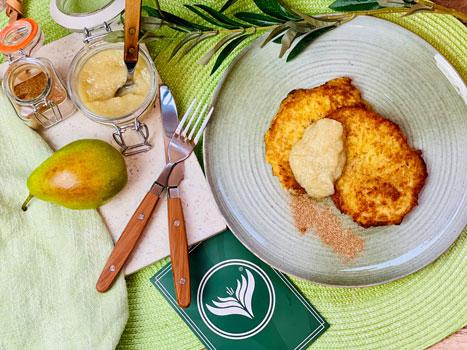 Kartoffelpuffer-mit-Birnenmus-Rezept-3