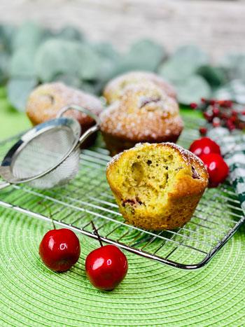 Kirsch-Safran-Muffin-Rezept-1