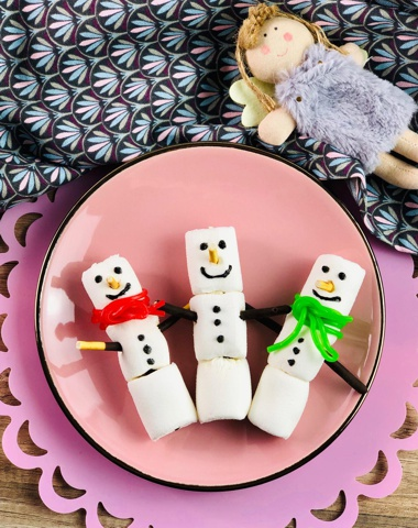 Marshmellow Schneemänner