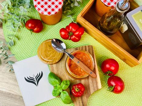 Ofen-Röst-Tomatensauce-Rezept