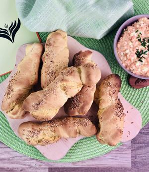 Orientalische Süßkartoffel-Stangen 1 mini