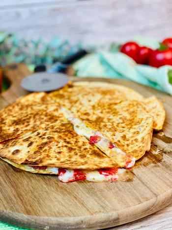 Rezept-Quesedillas-mit-Käse-Tomate