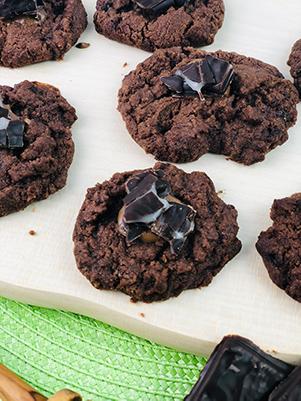 Schoko-Minz-Cookies 2 Mini
