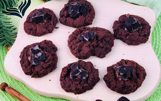 Schoko-Minz-Cookies Beitragsbild