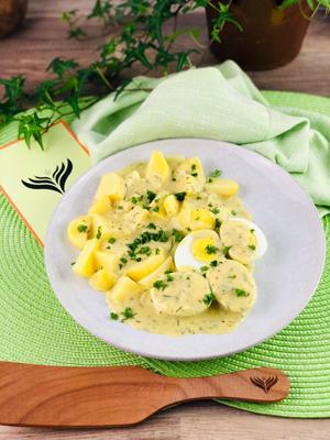 Senfeier mit Kartoffel 3 mini