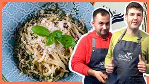 Thumbnail Youtube Spaghetti Carbonara