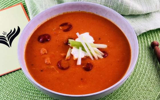 Tomaten Kokos Suppe Beitragsbild