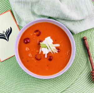 Tomaten Kokos Suppe Mini