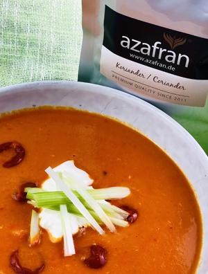 Tomaten Kokos Suppe Tüte