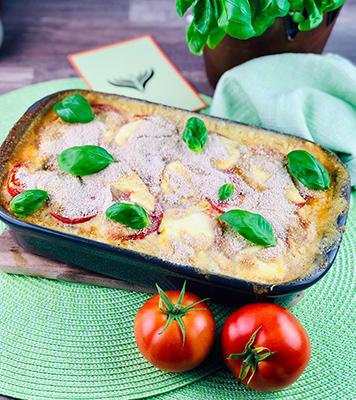 Tomaten-Lasagne mit Knusperhaube 2 mini