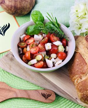 Tomatensalat mini1
