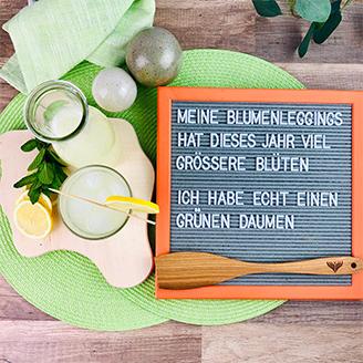 Zitronen-Ingwer-Limonade Tüte