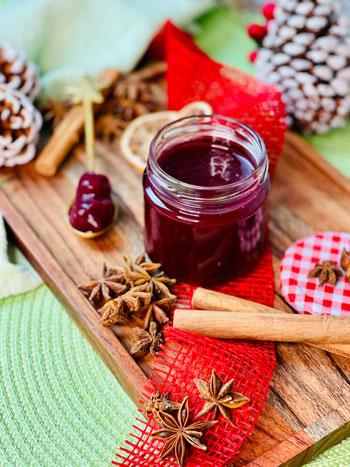 beste-fruchtige-Glühweinmarmelade-mit-kirschen-rezept-1