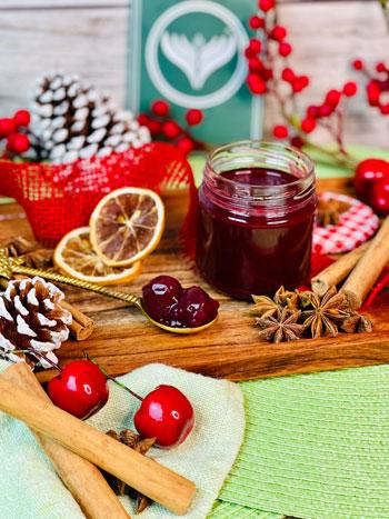 beste-fruchtige-Glühweinmarmelade-mit-kirschen-rezept-2
