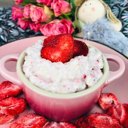 milchreis-mit-erdbeeren-rezept